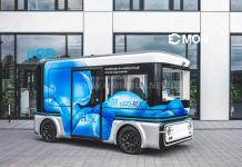 eGo Mover elektromos busz