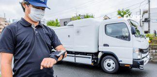 Daimler: a japán leány félautonóm e-kukáskocsija, hatékonyabban