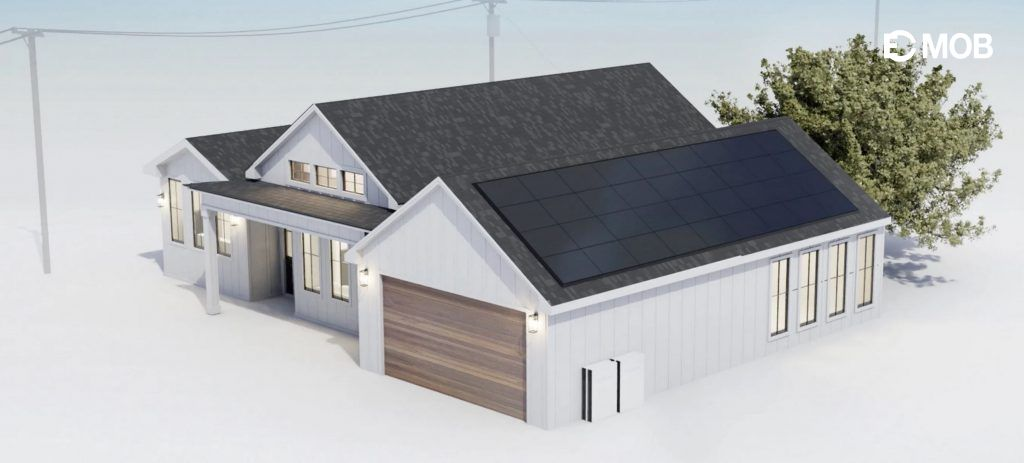 A Tesla egy otthoni csomagot vezetne be napelemmel és Powerwall-al