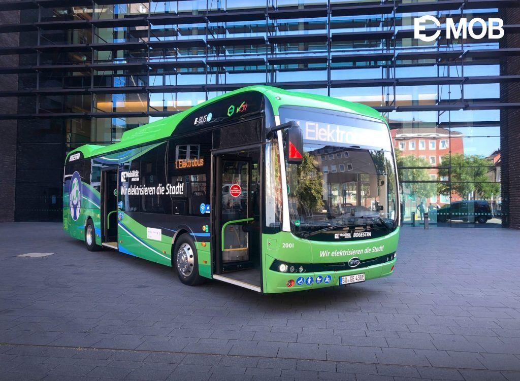 Megérkeztek az első BYD e-buszok Németországba