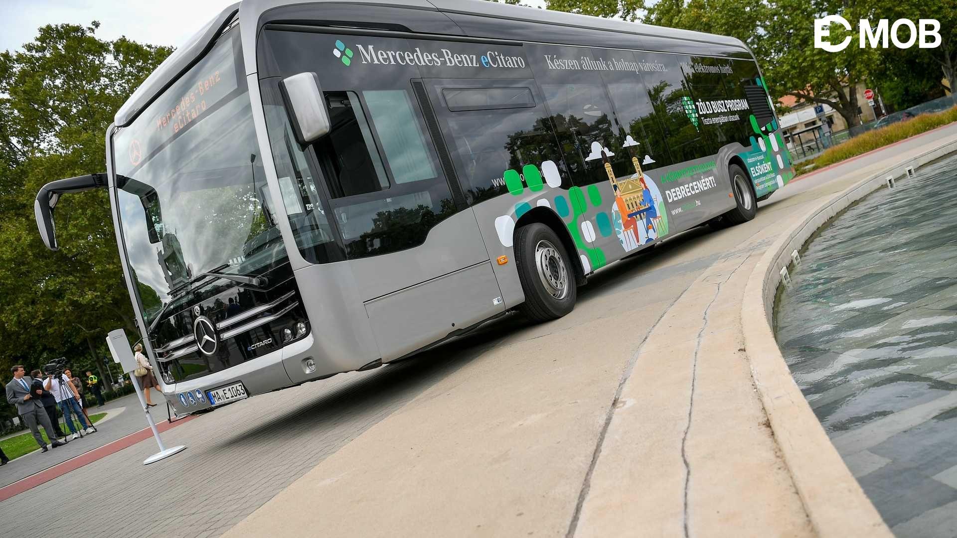 Debrecenben indul útjára a Zöld Busz Mintaprojekt